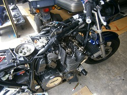 バイクXJR1300!
