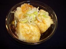 揚げ出汁豆腐|文京区のお豆腐屋さん|越後屋豆腐店
