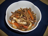 ぜんまいの煮物|文京区の豆腐屋さん|越後屋豆腐店