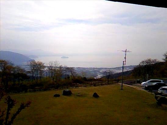 ビラデスト今津から見た奥琵琶湖