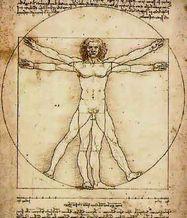 レオナルド・ダ・ヴィンチの描いた人体図