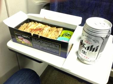 濱ポークとビール