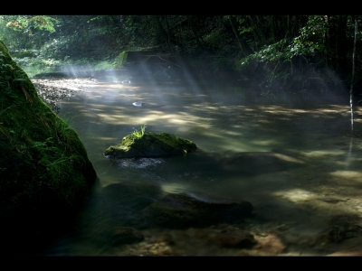 瞑想は川の流れの如し