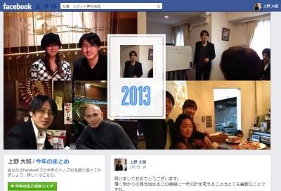上野大照2013まとめ