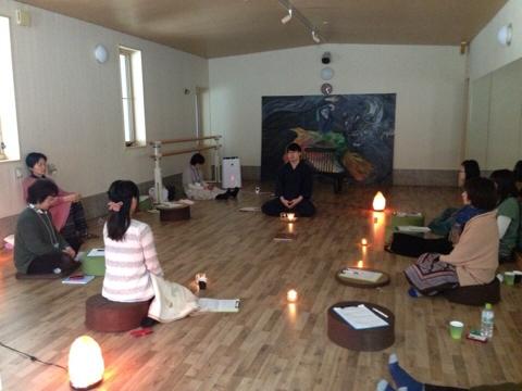 山形での瞑想講座