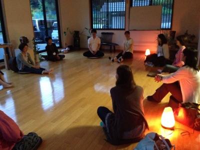 上野大照による瞑想体験講座