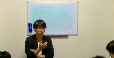 上野大照 セラピスト養成授業