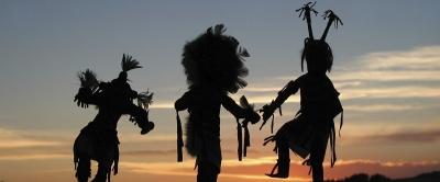 インディアンの儀式