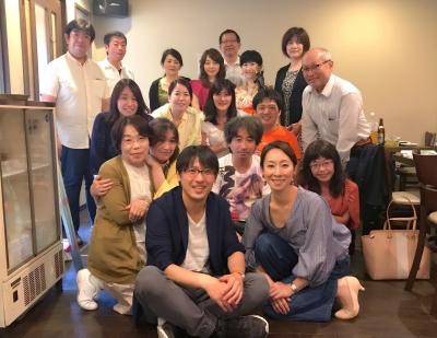 オフィス・コミュニケーションズ 5周年記念パーティ 参加者集合写真