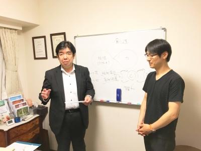 心匠セラピスト養成講座 修了生 田中浩一氏