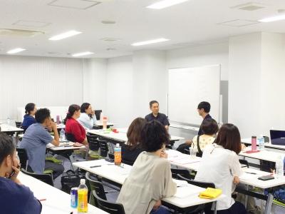ブリーフセラピー協会大阪支部にてデモセッションの披露