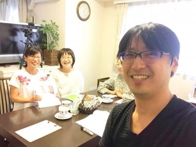 心を学ぶ講座対話編の受講生と上野大照