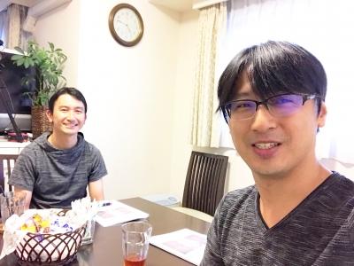 心を学ぶ講座を受講いただいている高瀬さんと上野大照