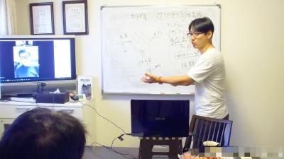 心匠セラピスト養成講座での授業風景