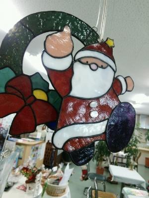 サンタさん飛んでるよ