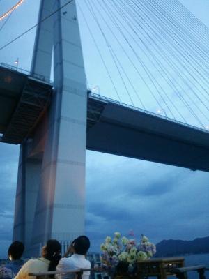 多々良大橋下