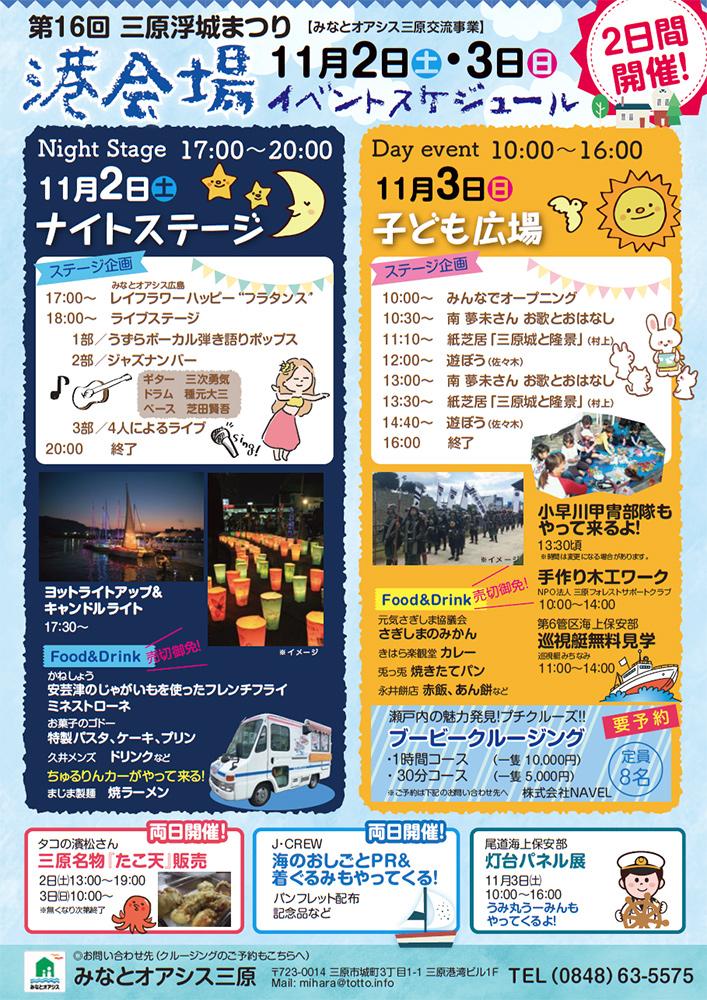 浮城まつり港会場イベント