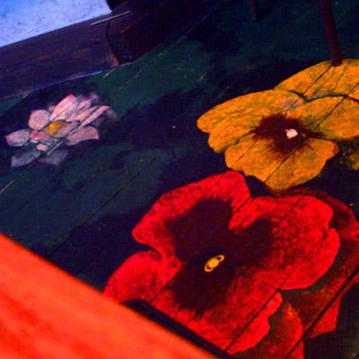 RRROOM床の花