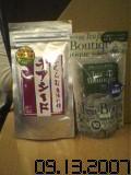 チアシードと茶