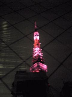 ピンクリボンof東京タワー