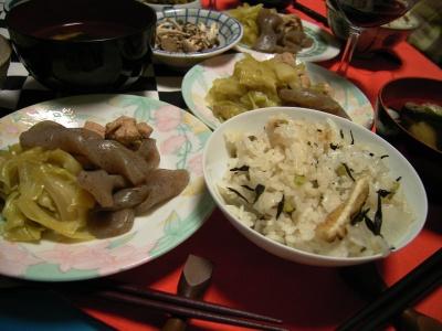 R0025879大根飯とコンニャク煮物_400.jpg