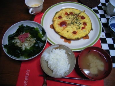 R0026115オムレツ、大根サラダ、麩ホタテ味噌汁_400.jpg