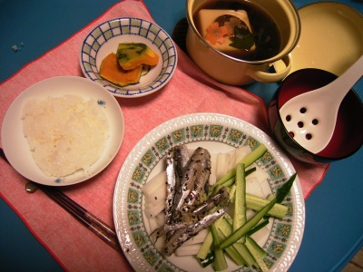 R00263357背黒鰯の酢漬け、湯豆腐、カボチャ煮_400.jpg