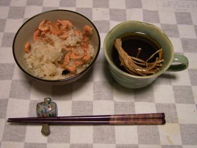 RIMG5827桜エビ鯛飯、乾燥エノキスープ_400.jpg