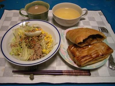 RIMG5774 (3)カレーパンとパイ、ツナサラダ、冷たいスープ_400.jpg