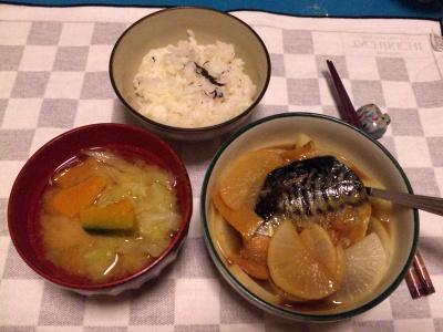 SBSH0101夜-さばと大根甘煮、キャベツの味噌汁_400.jpg