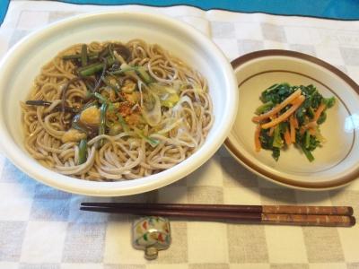 SBSH0117昼-山菜そば、ほうれん草胡麻和え_400.jpg