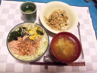 SBSH0117夜-ツナサラダ、ビーフン、味噌汁_400.jpg