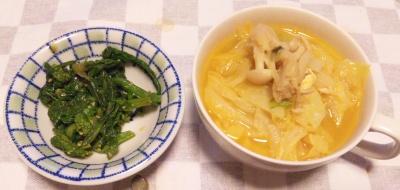 SBSH0116夜-キャベツスープ、菜の花おひたし_400.jpg