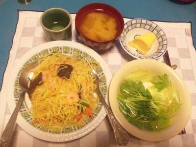 SBSH0123夜-海鮮中華そば、三つ葉豆腐、味噌汁、玉子焼き_400.jpg