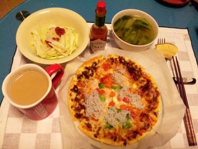SBSH0160夜-ピザ、大根ウメサラダ、トマト小松菜スープ_400.jpg