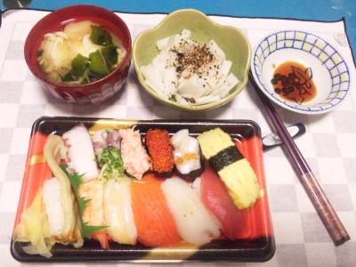SBSH0227夜-にぎり寿司、卵スープ、大根サラダ_400.jpg