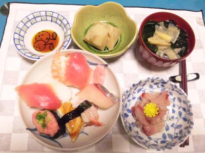 SBSH0213夜-握りずし、お刺身、若竹汁、筍の煮物_400.jpg