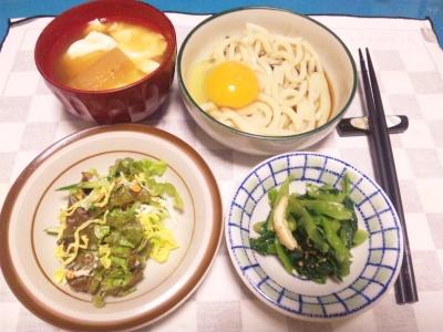 SBSH0213_1028夜-月見うどん、サラダ、おひたし、味噌汁_400.jpg