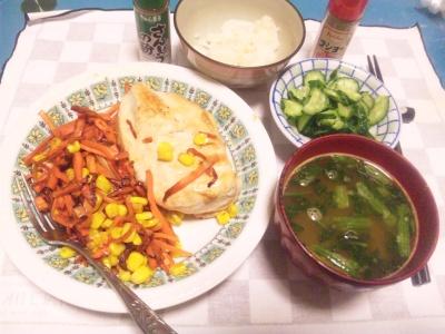 SBSH0202_1227夜-チキンソテー、キュウリもみ、小松菜の味噌汁_400.jpg