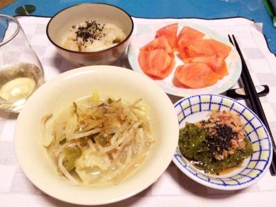 SBSH0202_0213夜-野菜スープ、めかぶ、トマト、かやく飯_400.jpg