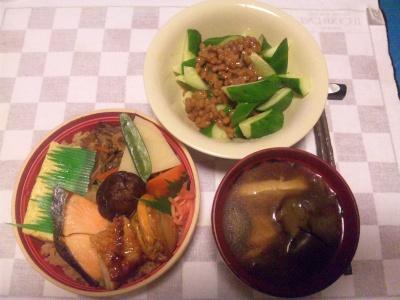 SBSH0203_0918夜-わっぱ飯、きゅうり納豆、野菜スープ_400.jpg