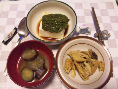 SBSH0216_1025夜-茄子味噌汁、メカブ奴、鶏のカレー_400.jpg