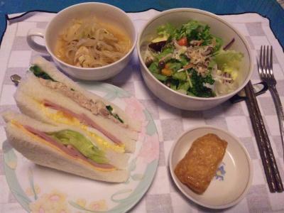 SBSH0218_1127夜-サンドイッチ、サラダ、スープ、いなり寿司_400.jpg