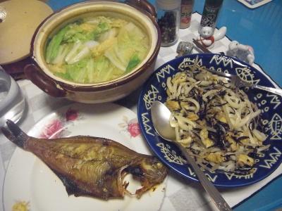 RIMG0008_0213夜-焼きうどん、カレイ干物、野菜鍋_400.jpg