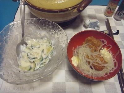 RIMG0005_0216夜-きゅうりヨーグルトサラダ、ごぼう揚げの鍋_400.jpg