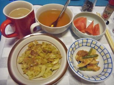 RIMG0009_0316夜-キャベツ炒め、イカお筍中華風、トマト、スープ_400.jpg