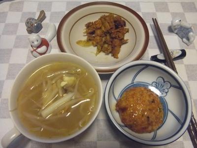 RIMG0009_0409夜-カレーおかず、豆腐バーグ、モヤシスープ_400.jpg