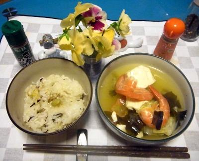 RIMG0016_0614夜-海老と豆腐のエスニックスープ、筍ご飯_400.jpg