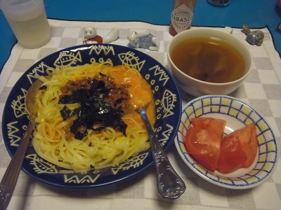 RIMG0009_0731夜-海苔納豆スパゲティ、スープ、トマト_400.jpg