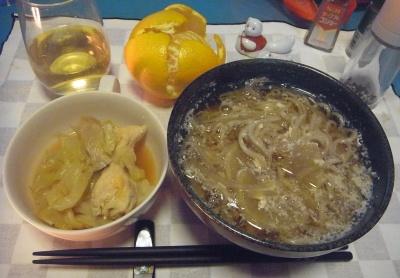 RIMG0012_0226夜-卵蕎麦、キャベツと鶏のスープ煮、八朔_400.jpg